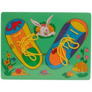Fűzős cipő - puzzle