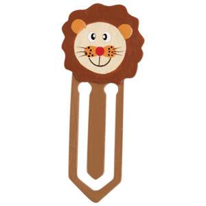 Könyvjelző - oroszlános