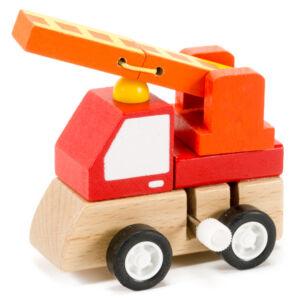 Hangya Bandika tűzoltóautó - felhúzható