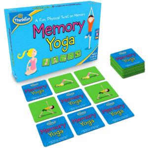Memory Yoga - társasjáték kicsiknek, és nagyoknak!