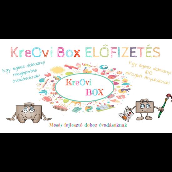 KreOvi Box - Előfizetés 2020.