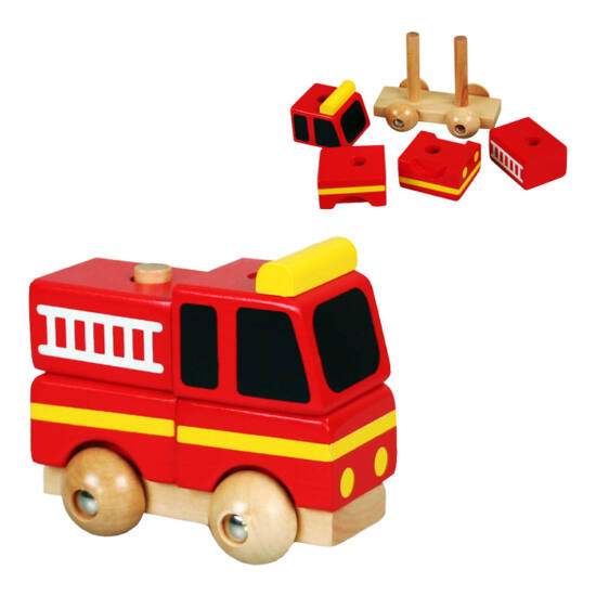 Hangya Bandika tűzoltóautó - szétszedhető