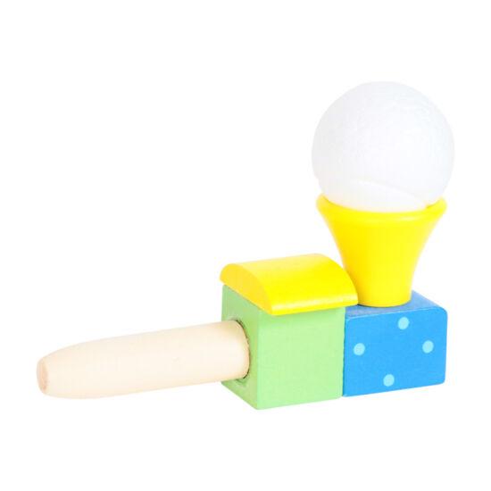 Ügyességi lebegő labda - sárga