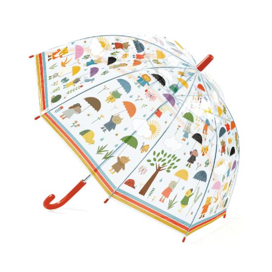 Esernyő - Mesés esős rajzokkal - DJECO