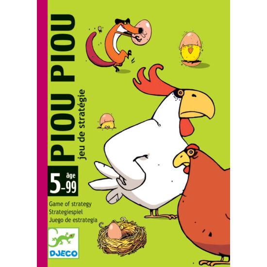 Piou Piou kártyajáték a családnak - DJECO