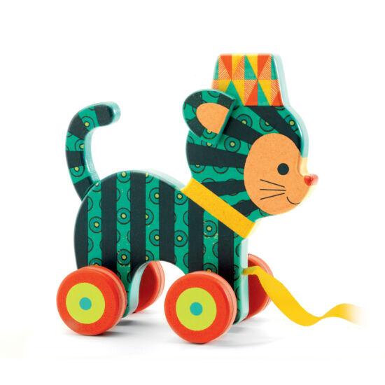 A bájos kiscica, Neko - húzható játék - DJECO