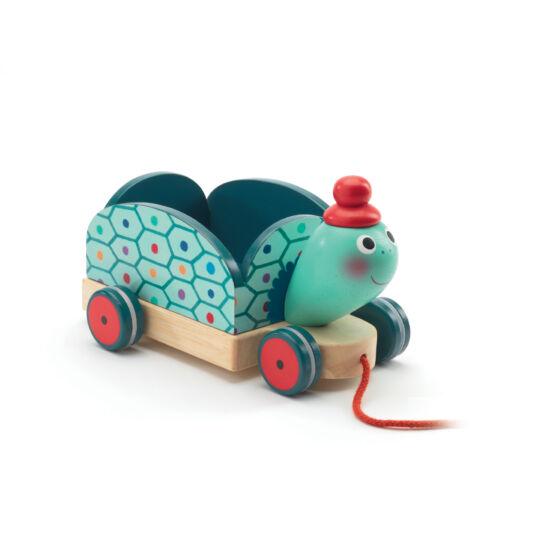 Clementine, a teherhordó teknős - húzható játék - DJECO