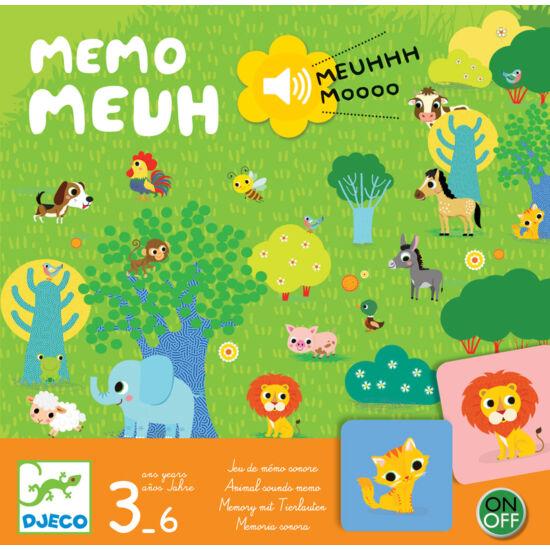 Memo Meuh - memória társasjáték - DJECO